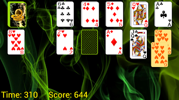 Screenshot of Two-Ways Solitaire