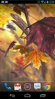 Screenshot of Autumn Tree Live Wallpaper