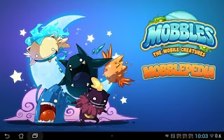 Screenshot of MobblePedia