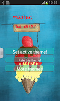 Screenshot of Melting Ice Cream Keyboard