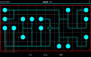 Screenshot of Mesh