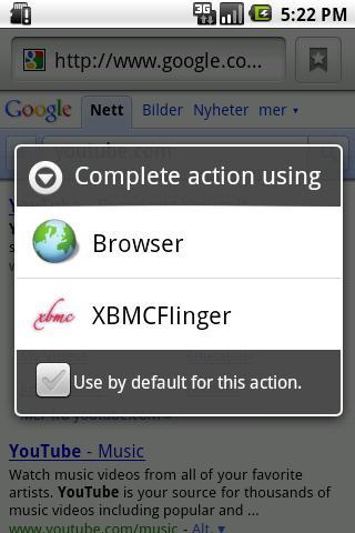 XBMCFlinger