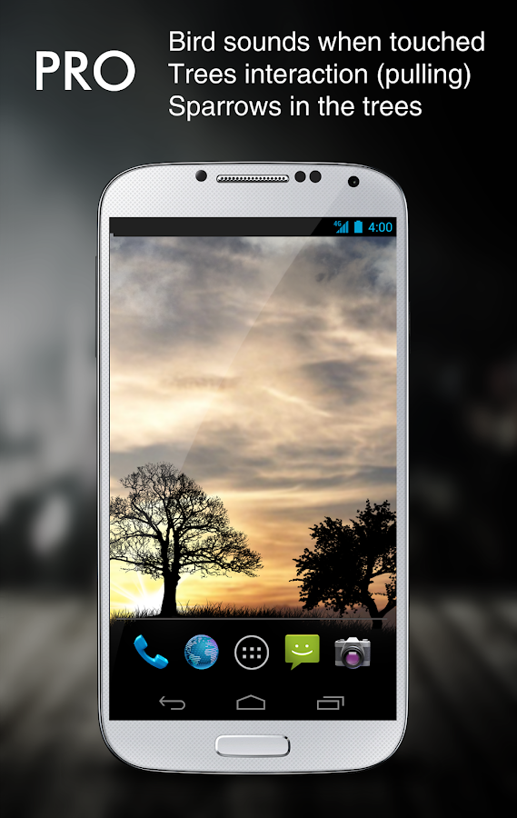 Sun Rise Pro Live Wallpaper Screenshot 0
