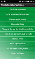Screenshot of DIT Ramadan Tider og Info