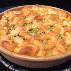 Sausage and Green Pea Pie