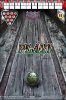 Screenshot of Zombie Bowling