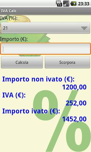IVA Calc Italian VAT Calc