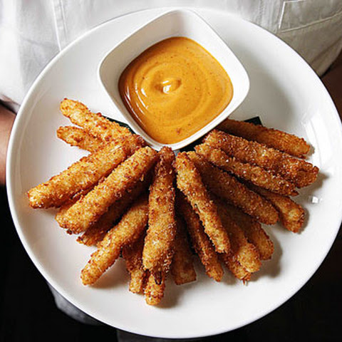 Hearts of Palm Fries with Chipotle Mayo