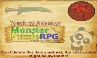 Screenshot of Monster Puzzle RPG