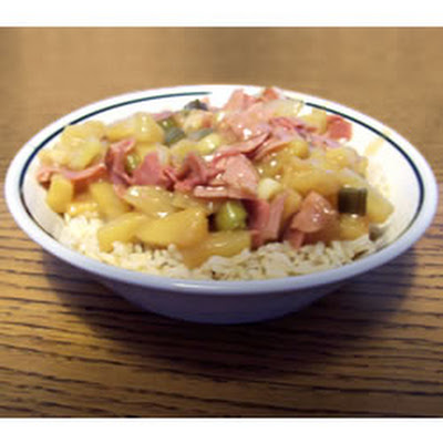 Ham and Pineapple Dinner