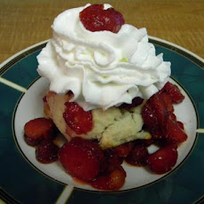 Strawberry Shortcake a la Treebeard's