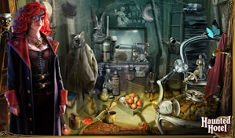 Screenshot of Hidden Object - Haunted Hotel