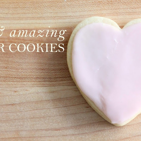 Easy & Amazing Sugar Cookies