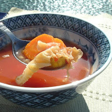 My Mother's Version: Weight Watcher's 0 Points Vegetable Soup