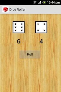 Dice Roller - screenshot