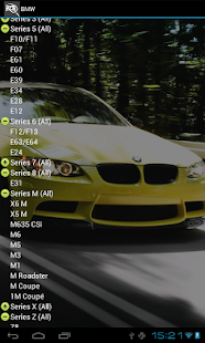 Screenshots  All cars info