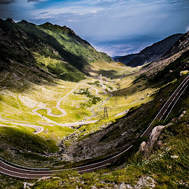 Road to heaven by Cosmin Lita - Landscapes Mountains & Hills ( clouds, mountain, transfagarasan, altitude, road,  )