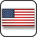 American Flag doo-dad icon