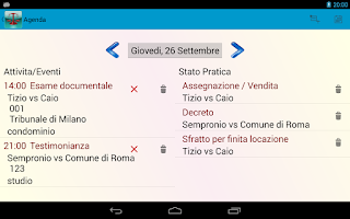 Screenshot of Legal Organizer