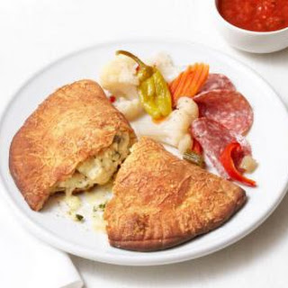 Three-Cheese Calzones