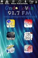 Screenshot of Onda Joven Radio