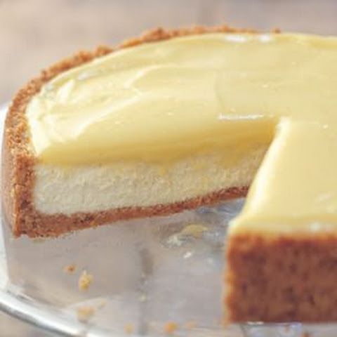 Goat Cheese-Lemon Cheesecake