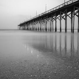 Below The Pier by Sean Touton - Buildings & Architecture Bridges & Suspended Structures