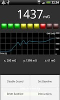 Screenshot of EMF Meter