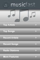 Screenshot of Music Fast Free Version