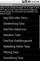 Screenshot of Taxi Denmark