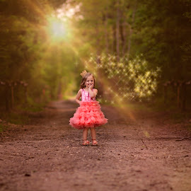 Sunshine and a Vibrant Dress! by Laci Patten - Babies & Children Child Portraits ( #child, moods, colorful, #children, happiness, vibrant, #pinkdress, inspiration, #sunshine, january, emotions, #naturallight, mood factory )
