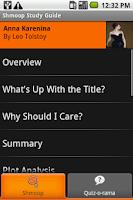 Screenshot of Anna Karenina: Shmoop Guide