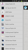 Screenshot of FM Radio UK All Stations