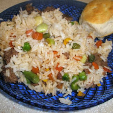 Sausage and Rice