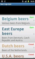 Screenshot of Beer Logo Quiz