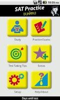 Screenshot of SAT Practice For Dummies