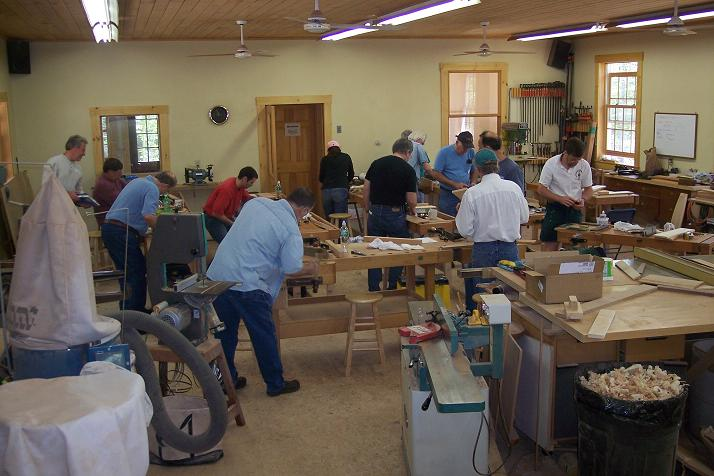 free woodworking classes