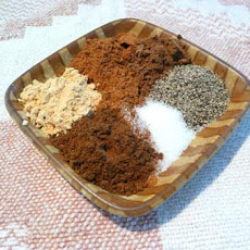 Special Pumpkin Pie Seasoning for Hillvilla Pumpkin Pie