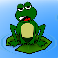 Screenshot of Froggy & Gang Frogger Puzzle F