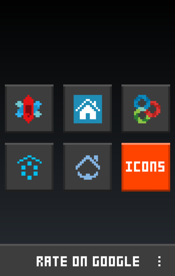 8-BIT Icon Theme Screenshot 1