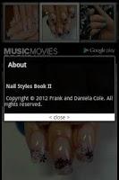 Screenshot of Nail Styles Book II