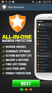App Star Antivirus APK for Windows Phone