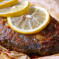 Snapper Baked With Cumin and Lemon