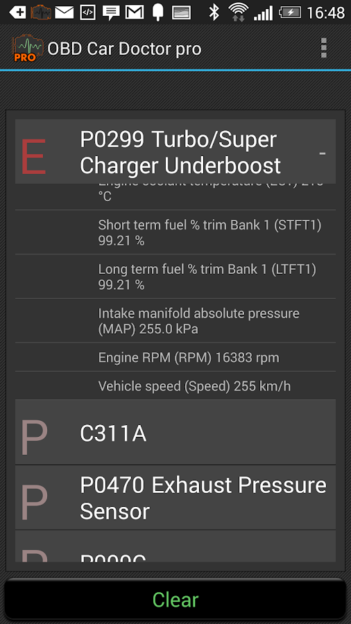 OBD Car Doctor Pro Screenshot 4