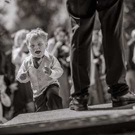 | The Kid | by Photo Jovan - Wedding Other ( wedding, bride and groom, bride, groom, kid,  )