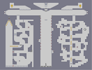 Thumbnail of the map 'Castlevania 3 Level 27: Chapel of Hope & Cathedral of Death'