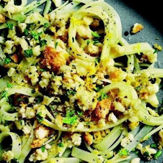 "Richard Blais's Potato ""Linguine"" with Conch and White Wine"