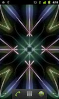 Screenshot of Glow Kaleidoscope LiveWallpape