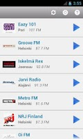 Screenshot of Suomen Radio (Finland)