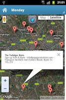 Screenshot of Open Mic Finder - London